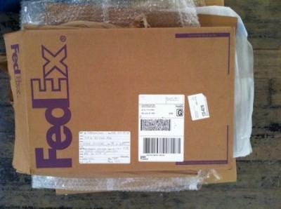 Gift inside Fedex
