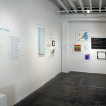 """Installation (with two gifts moved to """"selected gifts"""" wall)"""