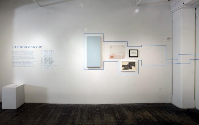 Installation (left wall)