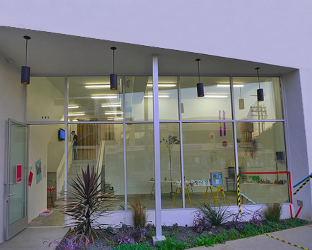 997 North Hill St. - Outside view of Collective Show